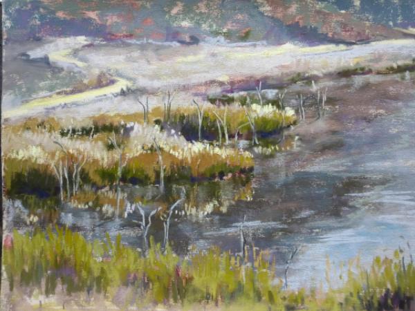 Lake Hodges 9x12