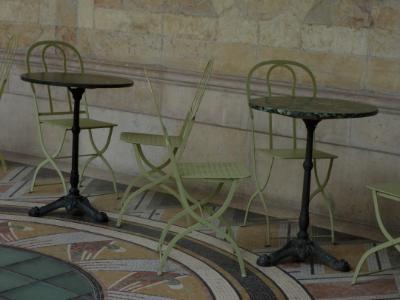 Cafe at Petit Palace Paris