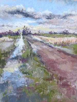 The Farm Road 9x12