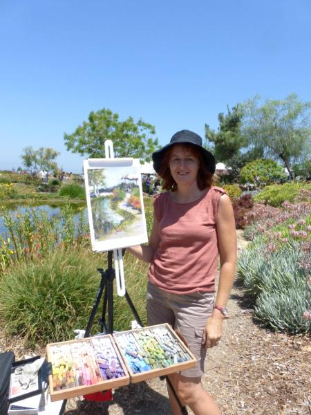 Painting at Waterwise Botanicals