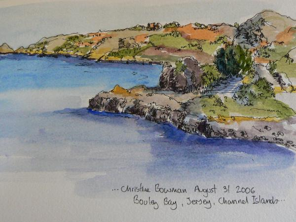 Bouley Bay, Jersey, Channel Islands