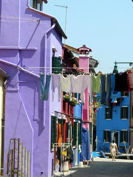 Burano Purple House Italy