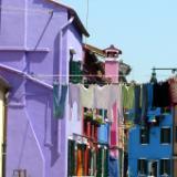 Burano Purple House Italy