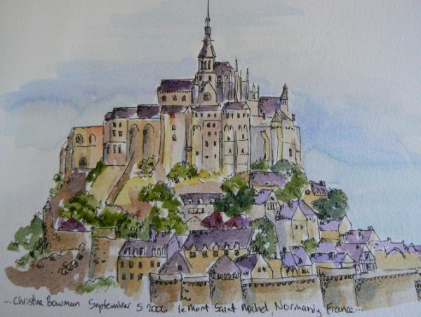 le Mont St Michel, France