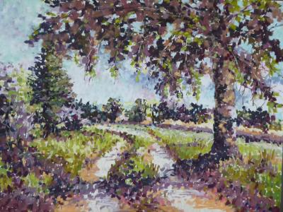 Impressionistic Landscape