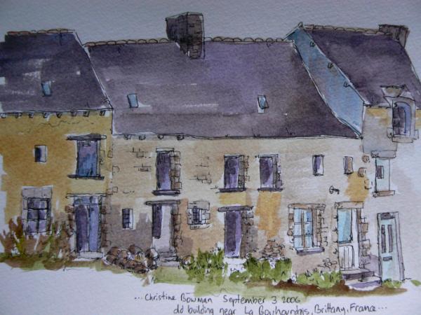 Old farm building, France