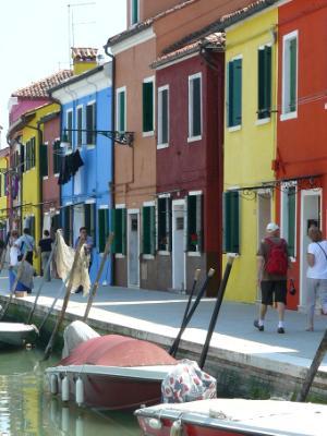 Burano Boats & Houses Italy