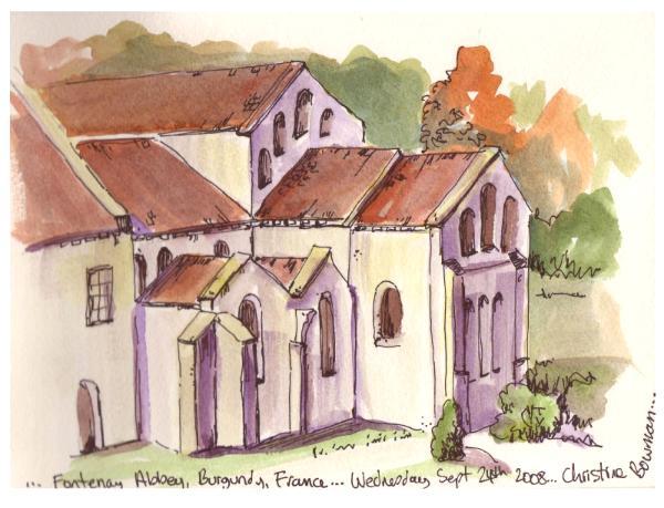 Fontenay Abbey, France