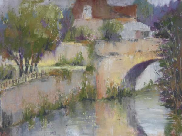 Bridge at Castlefranc - plein air