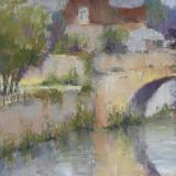 Bridge at Castlefranc - plein air