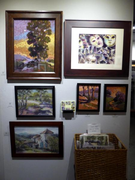 My current display at Artbeat on Main Street
