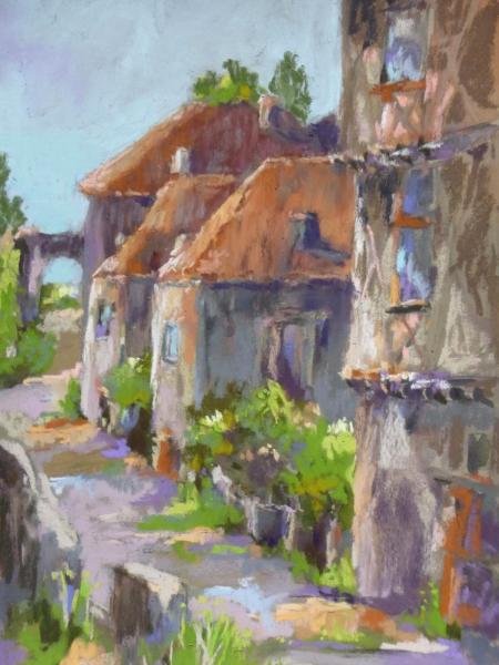 Saint Circq Lapopie 8x12