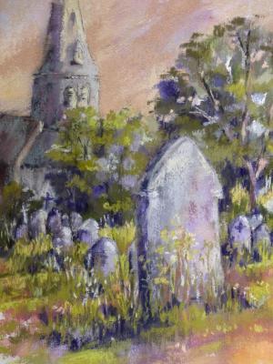 Churchyard 9x12
