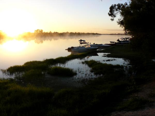 Morning on the Murray River