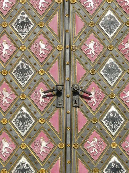 Church Door Prague