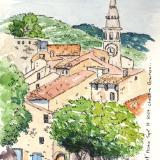 St Saturin les Apt, France