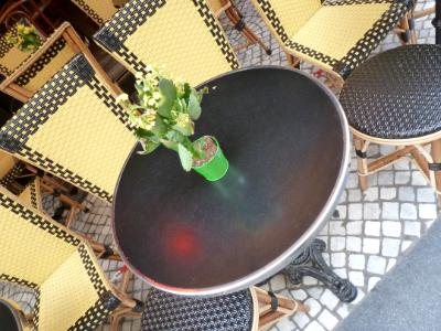 Paris table and chairs Paris
