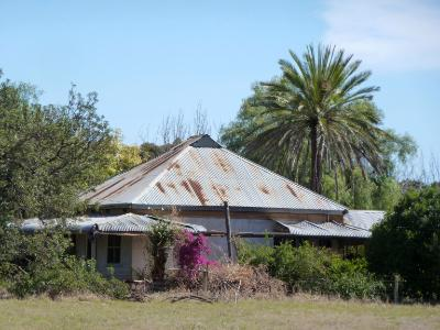 Old Australian farmhouse