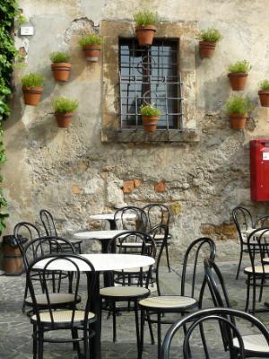 Pots on Wall Italy