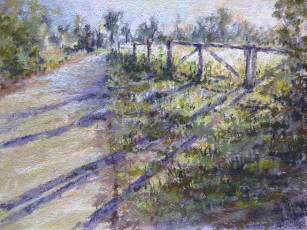 A Suffolk Country Lane 12x9