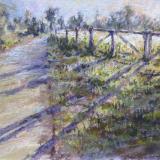A Suffolk Country Lane 12x9