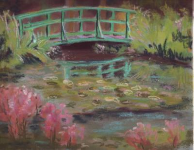 Monet's Bridge 12x9