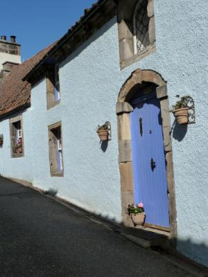 Blue Door Culross Scotland
