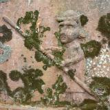 Man in a boat tombstone Perth Scotland