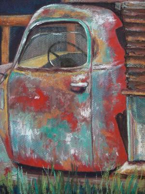 Rusty Red Truck