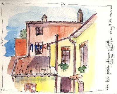 House in Spello, Italy