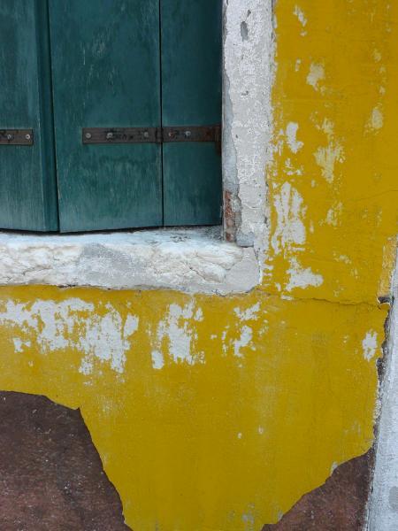 Yellow Wall Burano