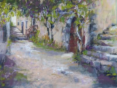 Old French Street 12x9