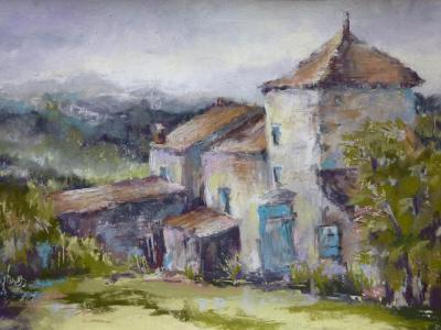 French Farmhouse 18x12