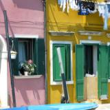 Green Shutters Burano Italy