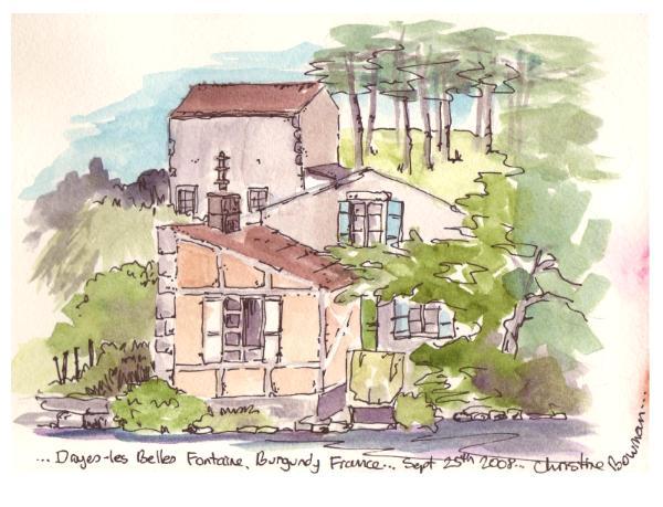 Druyes les Belles Fontaine, France