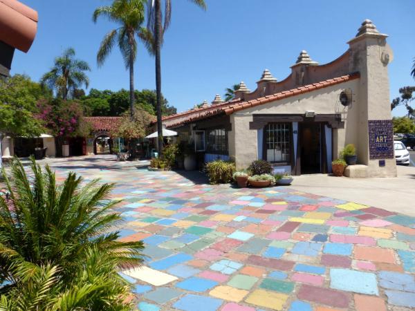 Spanish Village Balboa Park San Diego