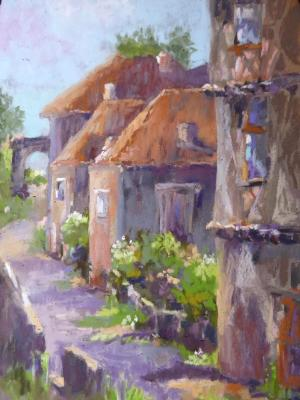 French Town 8x12
