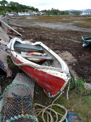 Red Boat Plockton Scotland