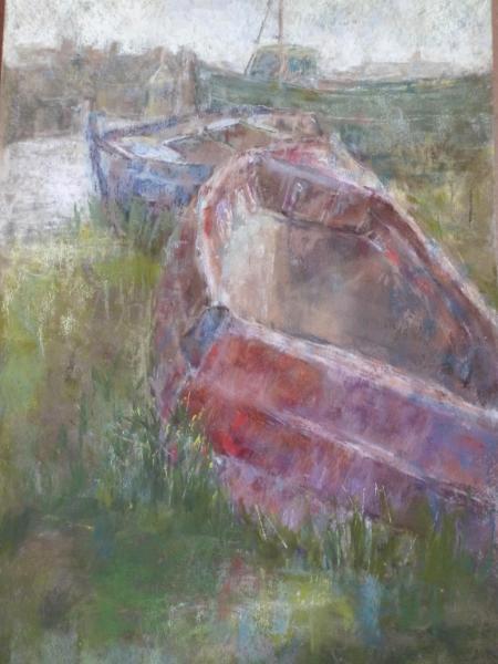 Boats at Johnshaven