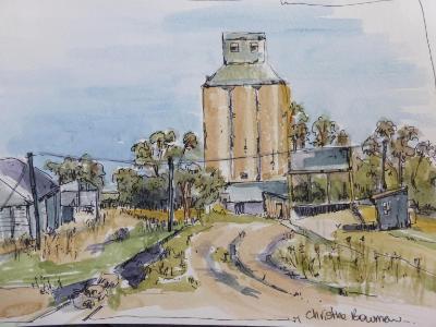 Grain Silos, Finley, Australia