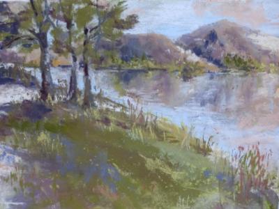Lake Poway 12x9