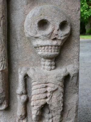Greyfiars Tombstone Perth Scotland